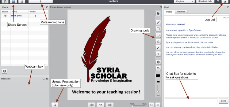 SyriaScholar Alpha Test Software Pre-launch